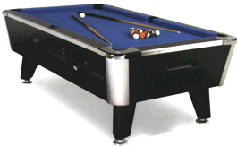 Legacy Pool Table - Coin Operated |  Great American