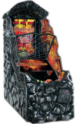 Lord Of The Baskets Shark Waterproof / Weatherproof Outdoor Coin Operated Basketball Arcade Machine From PunchLine