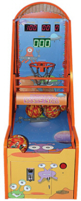 Martian Mania Basketball Kids Ticket Redemption Game