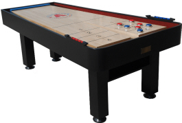 Metro Snap Back Rebound Shuffleboard Table From Mega Mania