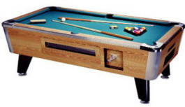 Monarch Pool Table - Coin Operated | Great American