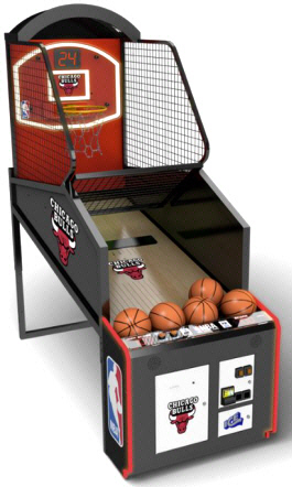 NBA Game Time Custom Model Basketball Arcade Machine Game From ICE Games