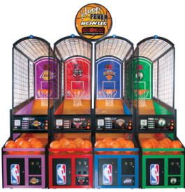 NBA Hoops FEC Model Basketball Machine | ICE Games