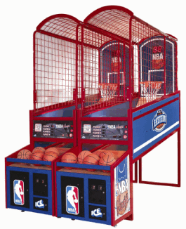 how to build a basketball arcade game