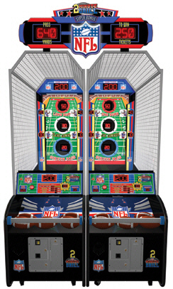 NFL 2 Minute Drill Football Arcade Game - Sports Arcade Ticket Redemption Game From ICE / Innovative Concepts In Entertainment