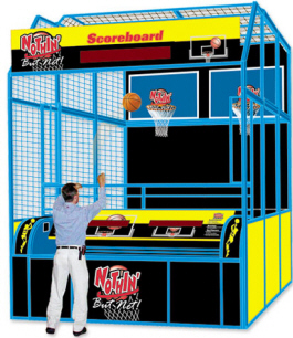 Nothin But Net Arcade Basketball Game By Skeeball