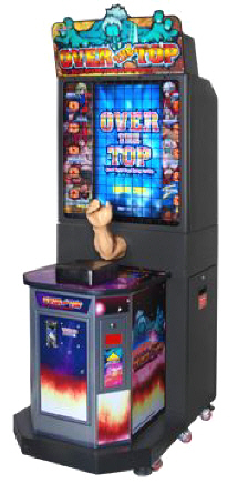 Over The Top Arm Wrestling Video Arcade Game