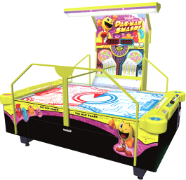 Pac Man Smash Air Hockey Table From Namco
