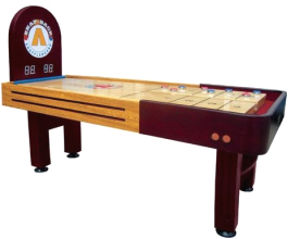 Pinnacle II / 2 Snap Back Rebound Shuffleboard Table From Mega Mania