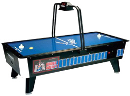 Power Hockey Air Hockey Table - Coin Operated | Great American
