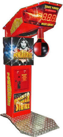 Power Strike Boxer Coin Operated Arcade Boxing Machine From Punchline Games