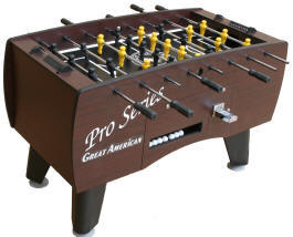 Pro Series Soccer Foosball Table By Great American Recreation