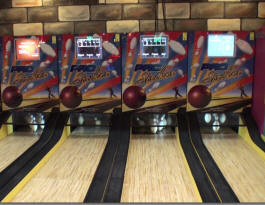 Pro Striker Stike Arcade Bowling Alley - Ten Pin Bowling Lanes - By Design Plus
