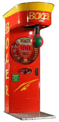 Boxer Coin Operated Arcade Boxing Machine From PunchLine