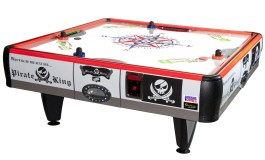 Quad Air / Pirate King 4 Player Non Coin Air Hockey Table From Barron Games