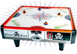 QuadAir 4 Player Non Coin Quad Air Hockey Table From Barron Games