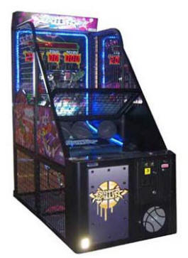 Rapper Ballin' Basketball Arcade Game Machine & Ticket Redemption Game From Family Fun Companies