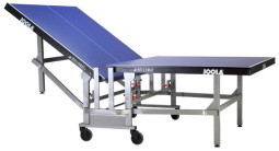 Joola Rollomat Ping Pong Tables   Folded View