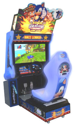 Sonic Sega All Stars Racing Video Arcade Game From SEGA