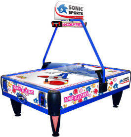 Sonic Sports 4 Player Air Hockey Table - SEGA Sonic All Stars