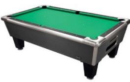 Shelti Bayside Charcoal Matrix Non-Coin Home Pool Table