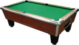 Shelti Bayside Sovereign Cherry Non-Coin Home Pool Table