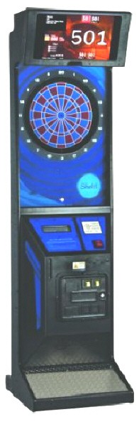 Shelti RD Internet Online Commercial Coin Operated Dartboard Machine