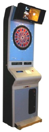 Shelti Radikal RD Internet Online Commercial Coin Operated Dartboard Machine