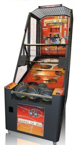 Shoot To Win Basketball Arcade Machine | From Smart Industries