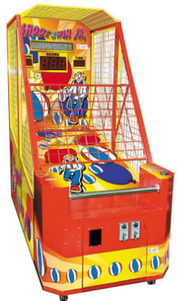 shoot to win jr junior basketball arcade machine smart industries discontinued sports arcade games reference page s s global  at mifinder.co
