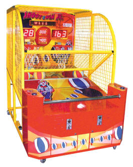 Shoot To Win Jr Basketball Machine | From Smart Industries