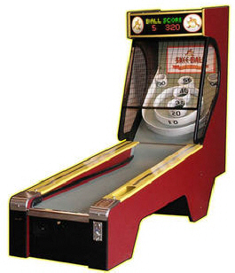 Skee-Ball Classic Alley 2010 Alley Roller Game From Skeeball