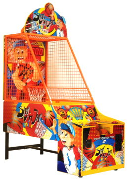 Slam N Jam Jr Junior Kids Basketball Arcade Game -  Ticket Redemption Game From LAI Games