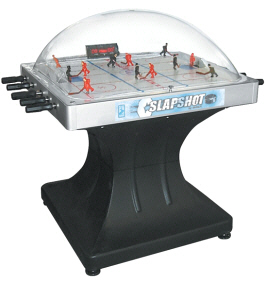 Slap Shot Dome Hockey Table / Bubble Hockey Game / Rod Hockey Machine By Shelti