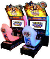 Sega Sonic All Stars Video Arcade Race Game - Twin Model From SEGA