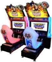 Sega Sonic All Stars Video Arcade Race Game - Twin Model From SEGA