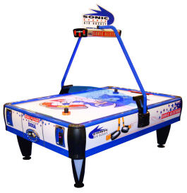 SEGA Sonic All Stars Air Hockey Table - 2 to 4 Players From SEGA