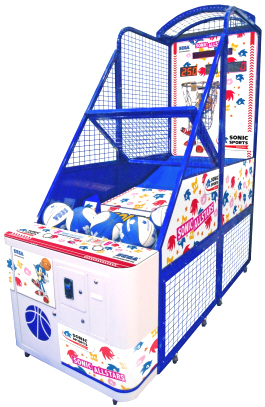 Sega Sonic All Stars Basketball Arcade Machine - Coin Operated Sports Arcade Game From SEGA