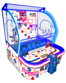 Sonic Sports Kids Basketball Arcade Game - SEGA Amusements