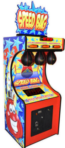 Speed Bag Kids / Children Boxer - Punching Bag Boxing Machine Game From Bob's Space Racers / BSR