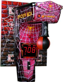 Spider Boxer Boxing Machine - Wall Mounted Coin Operated Boxer From Kalkomat / IGPM