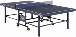 Stiga Expert Roller Table Tennis Ping Pong Table