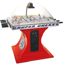 Super Chexx / Super Chex Dome Hockey Table / Bubble Hockey Game / Rod Hockey Machine From ICE Games