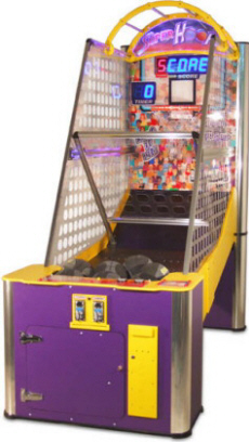 Super Hoops Basketball Arcade Machine From Benchmark Games
