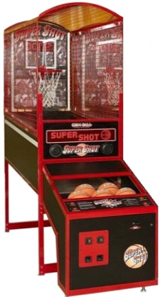 Super Shot Basketball Arcade Machine From Skee-Ball