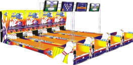 Super Strike Bowling Lanes - Arcade Bowling Machine Model From LAI Games