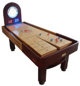 Tavern Snap Back Rebound Shuffleboard Table From Mega Mania