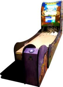 Yabba Dabba Doo Bowling Alley Machine | Imply