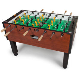 Tornado Elite Foosball Table TTXEL - Non Coin Home Model From Valley Dynamo