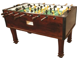 Tornado Reagan Foosball Table TXXSC - Non Coin Home Model From Valley Dynamo